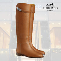 【19SS】HERMES ロングブーツ Bottes Jumping palissandre