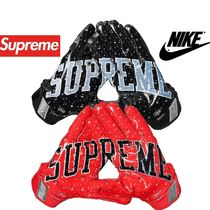 Supreme(シュプリーム) フットボール・サッカーその他 Supreme Nike Vapor Jet 4.0 Football Gloves AW 18 WEEK 19
