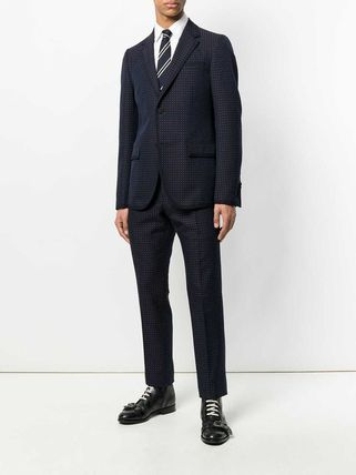 GUCCI スーツ 【正規品保証】GUCCI★19春夏★MICRO PRINT TWO PIECE SUIT(2)