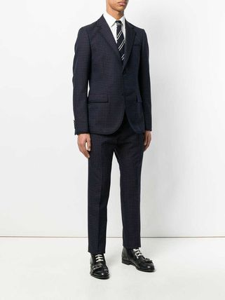 GUCCI スーツ 【正規品保証】GUCCI★19春夏★MICRO PRINT TWO PIECE SUIT(3)