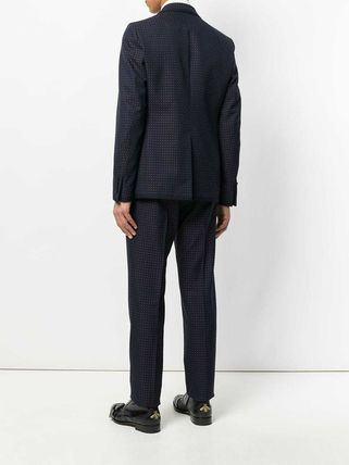 GUCCI スーツ 【正規品保証】GUCCI★19春夏★MICRO PRINT TWO PIECE SUIT(4)