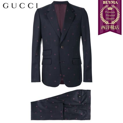 GUCCI スーツ 【正規品保証】GUCCI★19春夏★HERITAGE BEES TWO PIECE SUIT