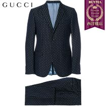 【正規品保証】GUCCI★19春夏★FLORAL EMBROIDERED SUIT
