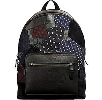レア☆異種混合☆COACH☆WEST BACKPACK  WITH PATCHWORK