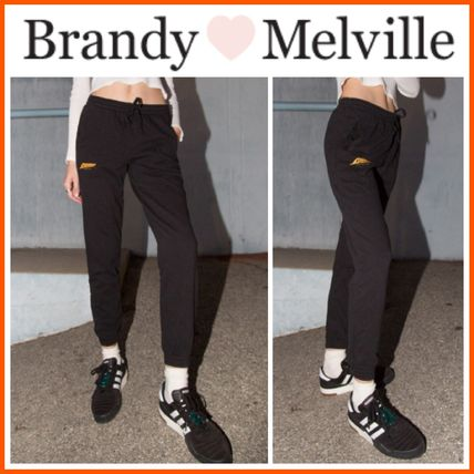 Brandy Melville ボトムスその他 ☆Brandy Melville☆ Rosa Los Angeles Lightning Sweatpants