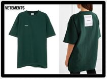 セール限定VETEMENTSヴェトモンOversized embroidered T-shirt