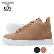 BOY LONDON(ボーイロンドン)★PUNHILL High Top Sneakers3カラー