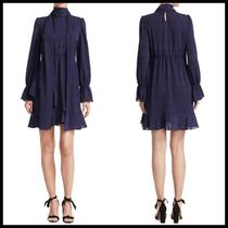 関税送料込♪ See by Chloe  Asymmetrical Ruffle Dress