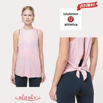 lululemon(ルルレモン)2Wayバック☆All Tied Up Tank Light