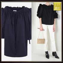 【SEE BY CHLOE】cotton top with frills