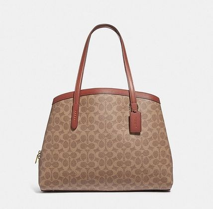 Coach ◆ 67033 Charlie carryall 40 in signature canvas