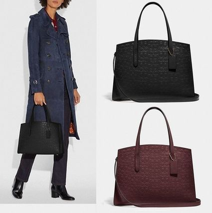Coach ◆ 51728 Charlie carryall in signature leather