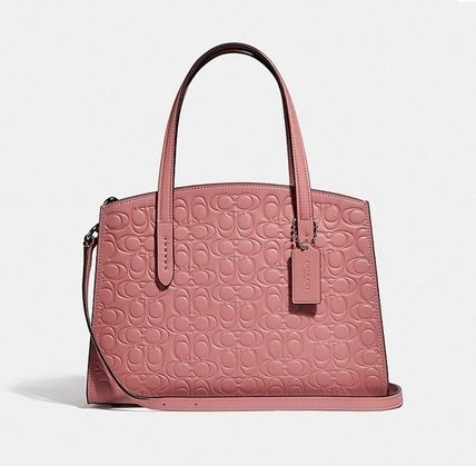 Coach ◆ 51665 Charlie carryall 28 in signature leather