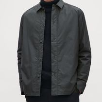 """COS MEN"" PADDED SHIRT JACKET BLACK"