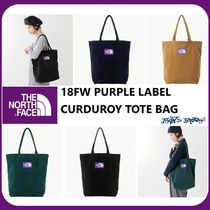 [THE NORTH FACE]  PURPLE LABEL CURDUROY TOTE BAG 4COLOR