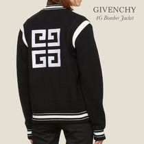 GIVENCHY 4G KNITTED BOMBER JACKET