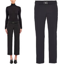 PR1711 STRETCH TECHNO FABRIC PANTS WITH BELT