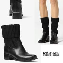 SALE! MICHAEL Michael Kors  April ◇ レザーニットブーツ