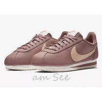 【NIKE】Classic Cortez Leather Metallic Wスニーカー Smokey