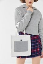 ★URBAN OUTFITTERS★メッシュポケット付バッグ Naomi Tote Bag