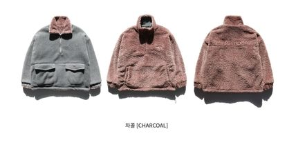WV PROJECT アウターその他 WV PROJECT★Vely Reversible Fleece Anorak -CHARCOAL-MJMT7214(9)