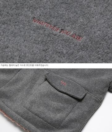 WV PROJECT アウターその他 WV PROJECT★Vely Reversible Fleece Anorak -CHARCOAL-MJMT7214(11)