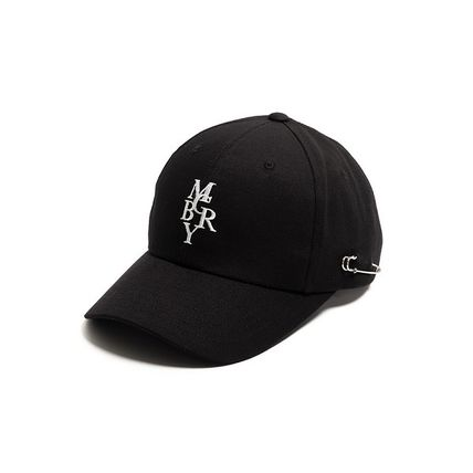MACK BARRY キャップ 【国内発送・送料無料】MACK BARRY MCBRY CHAIN CURVE CAP
