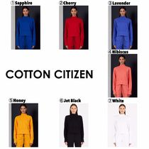 COTTON CITIZEN(コットンシチズン) スウェット・トレーナー 【COTTON CITIZEN】Hailey Baldwin愛用☆Milan Sweatshirt