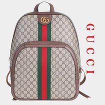 VIP Sale!【GUCCI】OPHIDIA GGミディアムバックパック☆国内発送