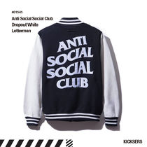 人気話題!Anti Social Social Club Dropout White Letterman