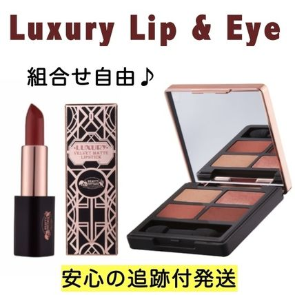 【新作2点セット】Luxury Lipstick & Eyeshadow Palette