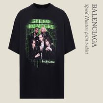 BALENCIAGA Speed Hunters プリントTシャツ