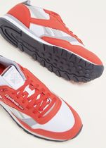 Sneakers CL Leather RSP - Rouge et blanc