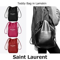 ▽国内発送・関税込▽Saint Laurent▽Teddy bucket bag