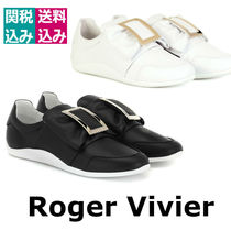 2019新着☆ROGERVIVIER☆Sporty Viv' leathersneakersスニーカー