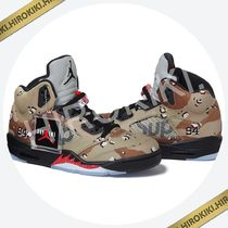 15AW /Supreme NIKE AIR JORDAN 5 RETRO Camo ジョーダン 迷彩