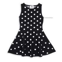 Milly(ミリー) キッズワンピース・オールインワン SALE!送料込【Milly Minis】 Girl's Polka-Dot Flare Dress