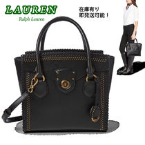 特価 !  Ralph Lauren  Whipstitched Leather Satchel
