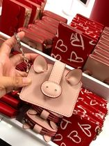 KATE SPADE★1月新作★pig card case*キーリング付カードケース