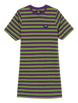 ★STUSSY★MURRAY STRIPED T-SHIRT DRESS