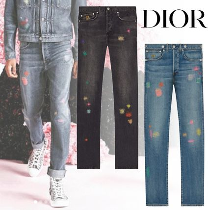 huge selection of 5a2a3 d4daf 19SS <Dior ディオール> ボロ刺繍入り コットンジーンズ 2色