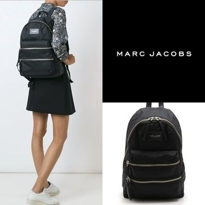 MARC JACOBS バックパック・リュック MARC JACOBS NYLON BIKER BACKPACK