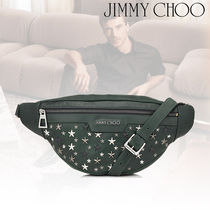 19SS☆JIMMY CHOO☆DERRY Bottle レザークロスボディバッグ