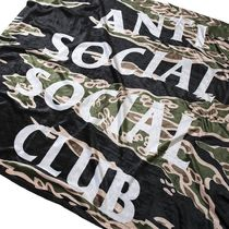 Anti Social Social Club Bellagio Tiger Camo Blanket tee