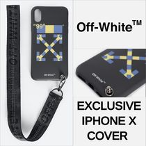 """Exclusive【OFF-WHITE】iPhone X Case""""関税送料込み"""""""