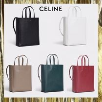 新作【CELINE】SMALL CABAS IN GRAINED CALFSKIN 人気商品