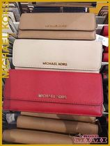 Michael Kors☆定番フラット長財布FLAT WALLET★JET SET TRAVEL