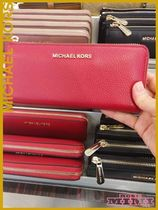 L字型長財布!Michael Kors☆JET SET TRAVEL LG THREE QTR ZIP