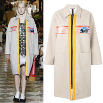 MM754 LOOK21 COATED RAIN COAT WITH PATCH