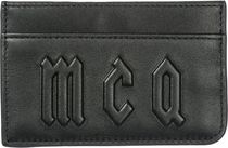 MCQ☆SALEMens genuine レザー credit card ケース ケース 財布
